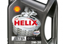 Новинка – масло Shell Helix Ultra Extra 5W-30!